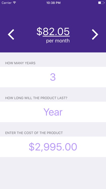 Cost Per Day screenshot-4