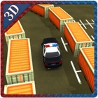 Police Car Parking- City Driving Simulation icon