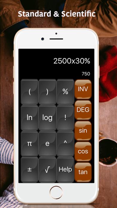 Calculator plus HD : Scientific App Calculatorのおすすめ画像2
