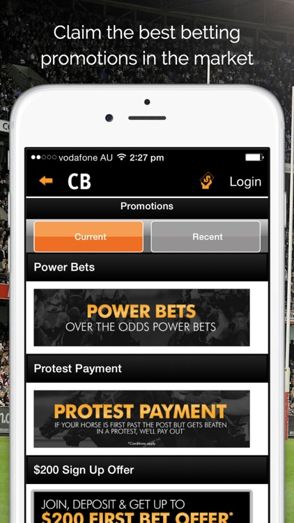 Centrebet Sports Betting screenshot-4