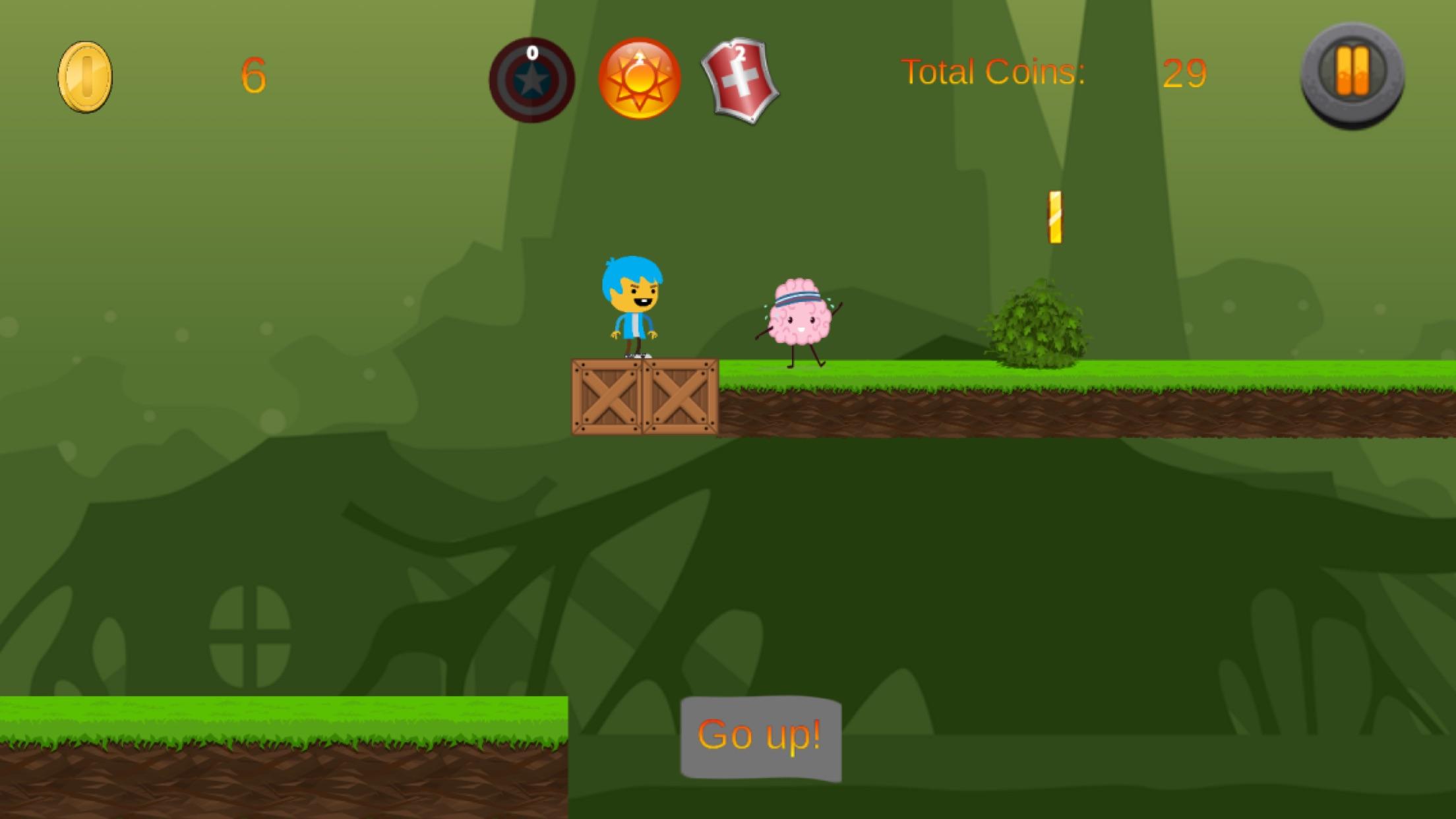 Screenshot do app Brain Scape