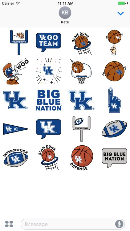 Kentucky Animated+Stickers for iMessage