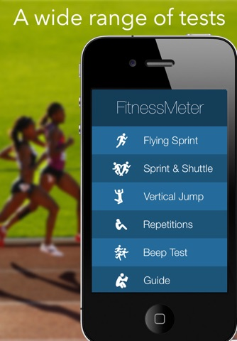 FitnessMeter - Test & Measure screenshot 1