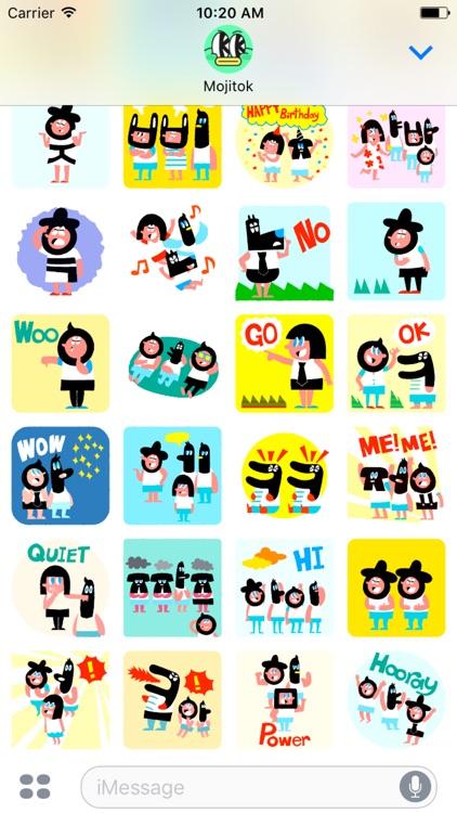 MMC FRIENDS Animated Stickers