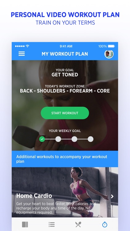 FitWell - Personal Fitness & Nutrition Coach screenshot-4