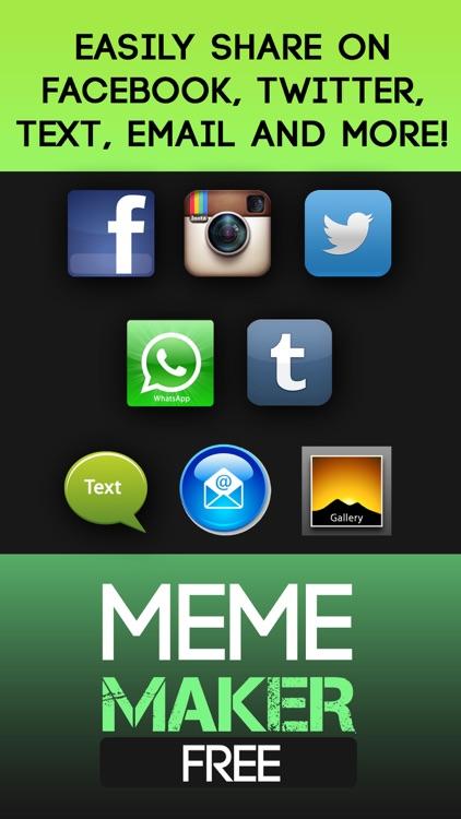Meme Maker- Fun Meme Generator screenshot-4