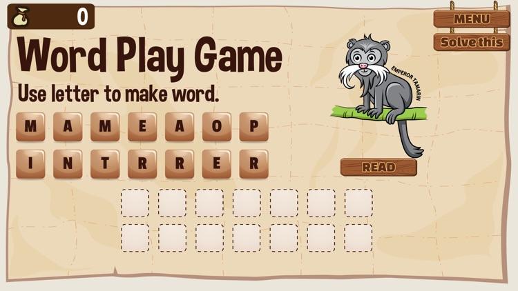 Word Play Amazon Animal screenshot-3