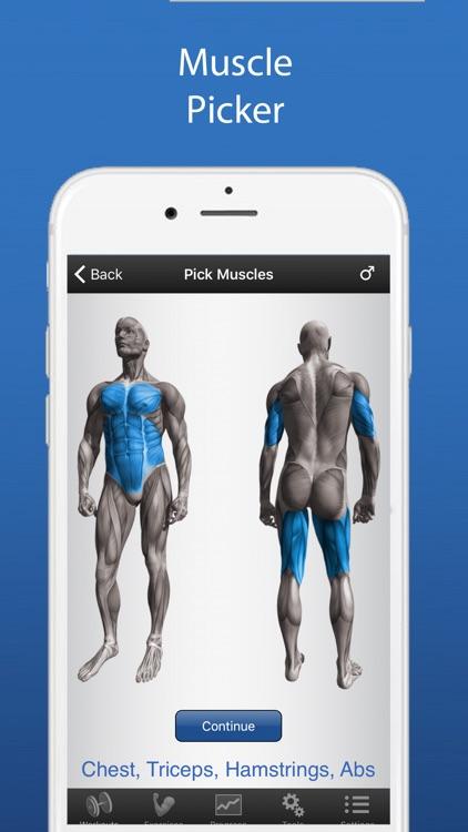 iPersonalTrainer - Fitness Workouts screenshot-3