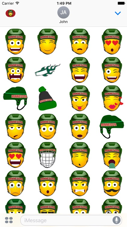 Minnesota Hockey Stickers & Emojis screenshot-3