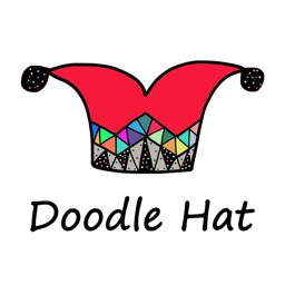 Doodle Hat Stickers by StiPia
