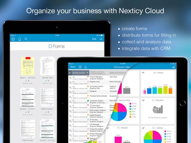 Nexticy Cloud Forms Screenshot