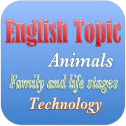 English Vocabulary With Topics - Pro