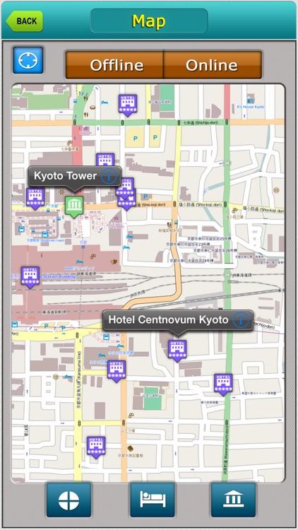 Kyoto Offline Map Travel Explorer
