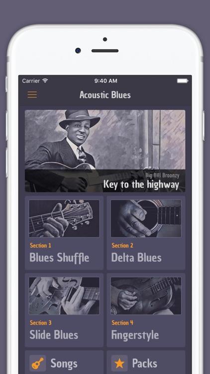 Acoustic Blues Guitar -Lessons screenshot-0