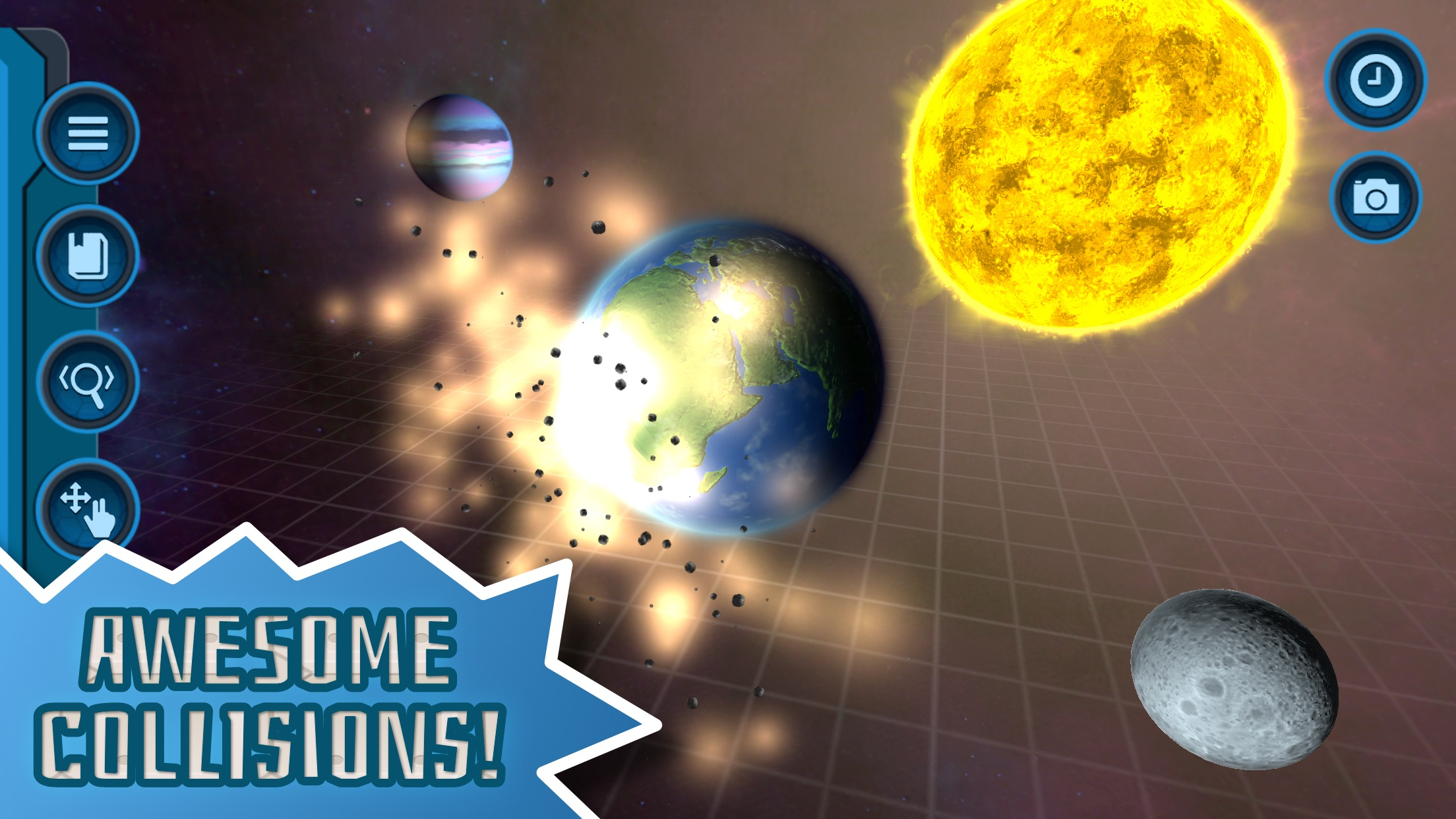 My Pocket Galaxy - 3D Sandbox Screenshot