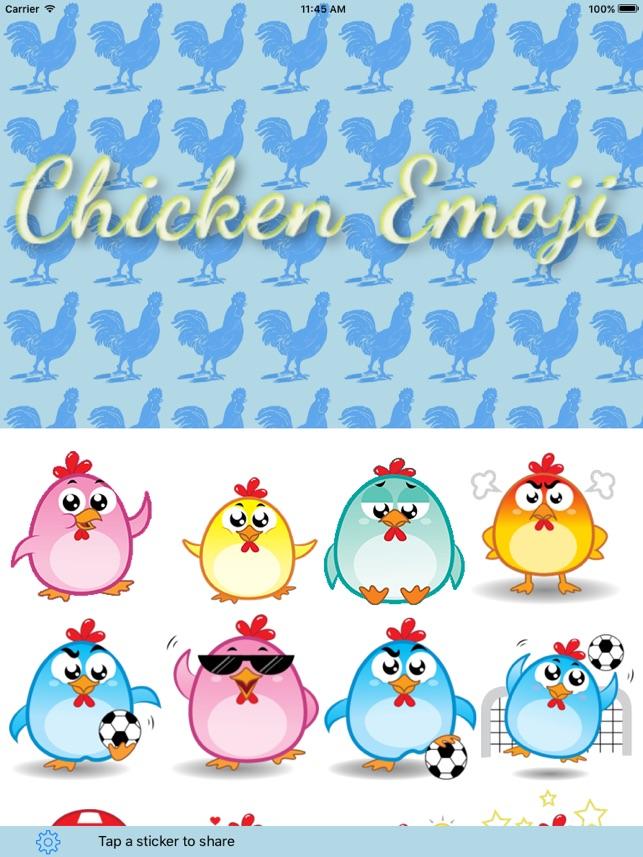 Chicken Emoji on the App Store