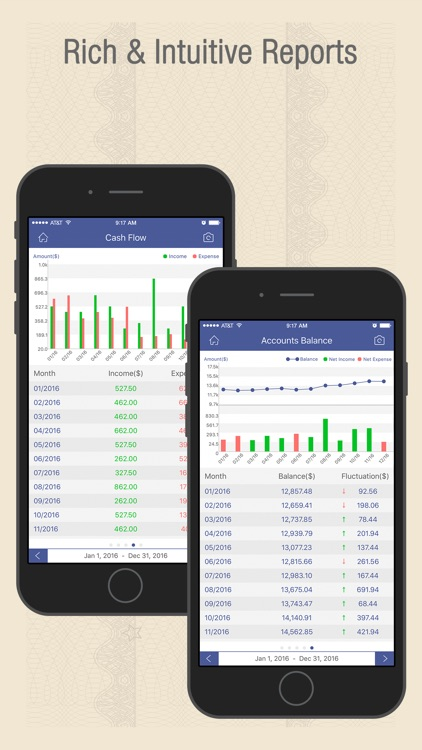 Checkbook Wiz Pro- Track Expense, Income & Account screenshot-3