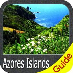 Azores Islands charts GPS map Navigator