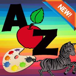 Abc Harf Boyama Kitabi Okul Oncesi Egitim Oyunu App Store Da
