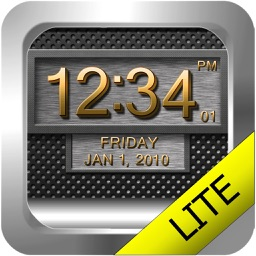 Clock 3D Metal Lite
