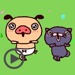 Funny Piggy Animated