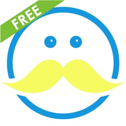 Moustachify - Free Moustache Photo Fun - Moustache stickers, beard stickers, glasses stickers and cool frames