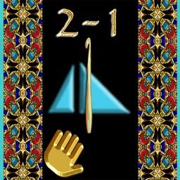 Secrets 2-1, PATTCAST (Lefties): Pyramid crochet!