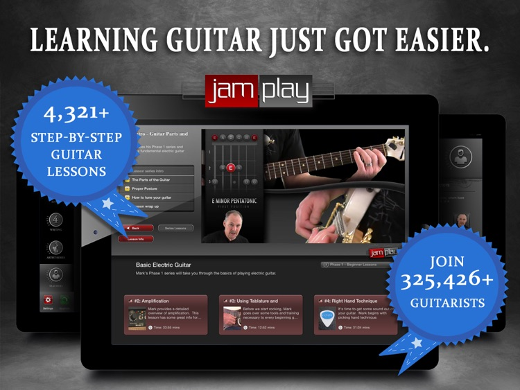 Guitar Lessons: JamPlay screenshot-0