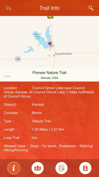 Kansas State Parks & Trails screenshot four