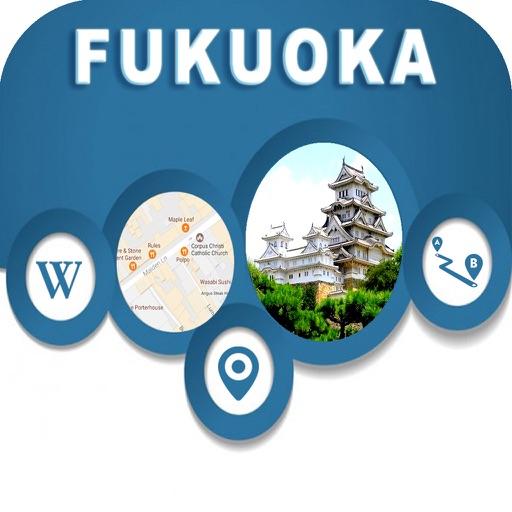 Fukuoka Japan Offline City Maps Navigation