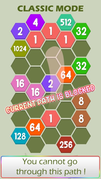 Connect Hexa Puzzle - Matching Numbers screenshot two