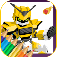 Activities of Robot Coloring Book Game For Kids