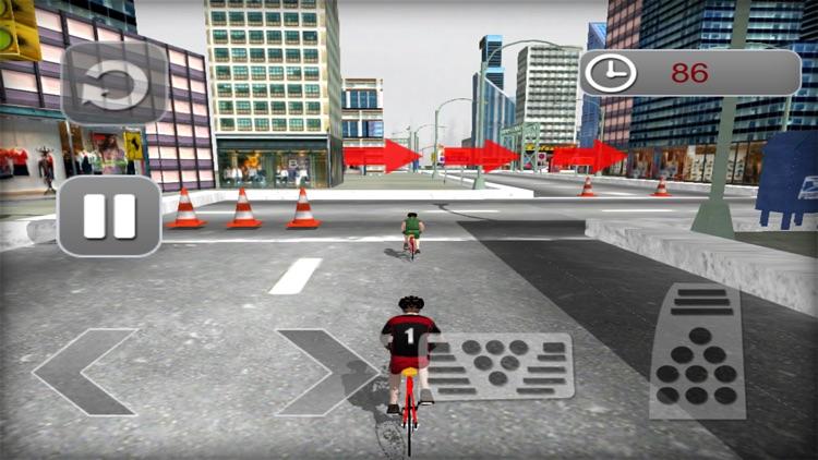 Subway Cycling Race : High-Way City Traffic Rider