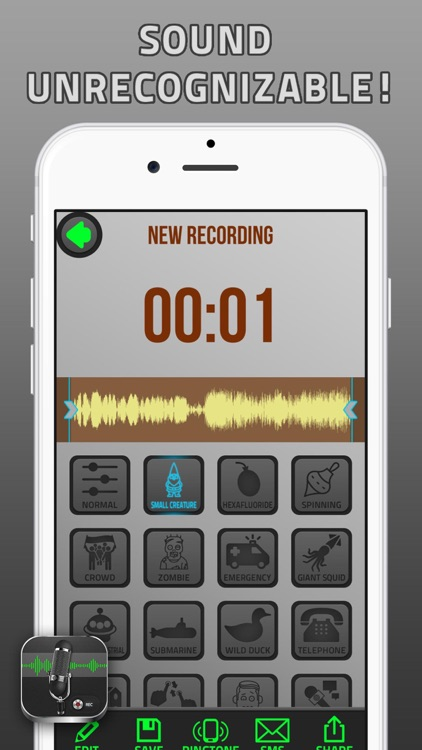 Voice Changer and Sound Recorder screenshot-3