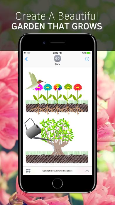 Springtime Animated Stickers screenshot 1