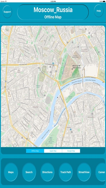 Moscow Russia Offline City Maps Navigation by Egate IT Solutions Pvt Ltd