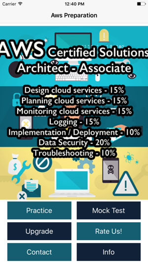 AWS Certified Solutions Architect - Associate Exam on the App Store