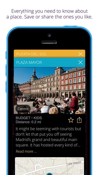 Madrid travel guide & map - momondo places app image