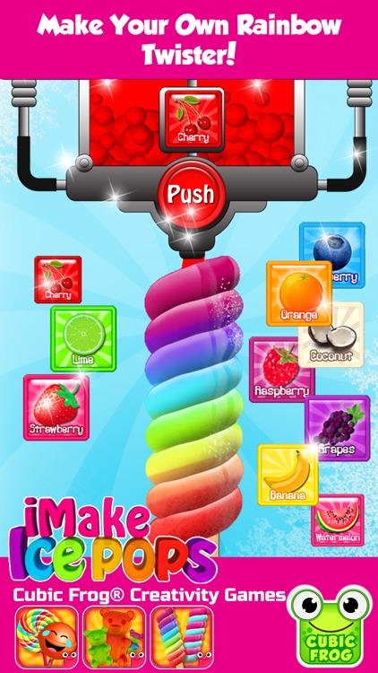 iMake IcePops-Food Games Popsicle Maker for Kids screenshot-3