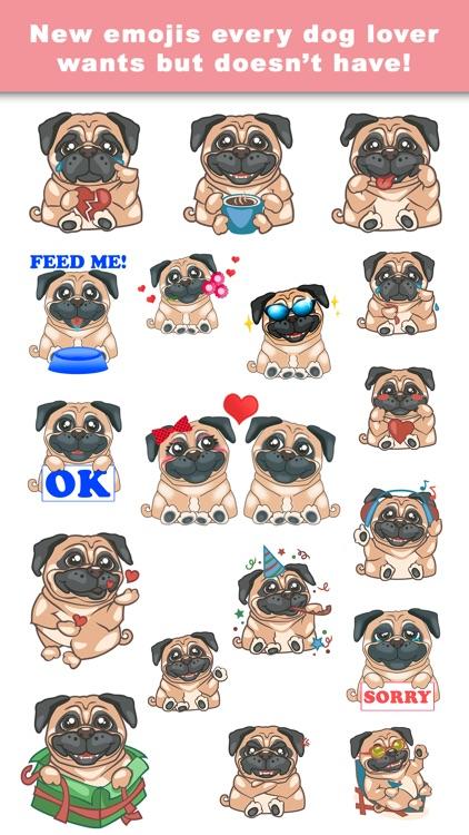 PugLoveMoji - Stickers & Keyboard For Pugs