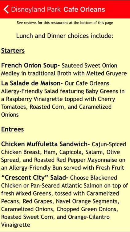 Gluten Free For Disney Dining screenshot-4