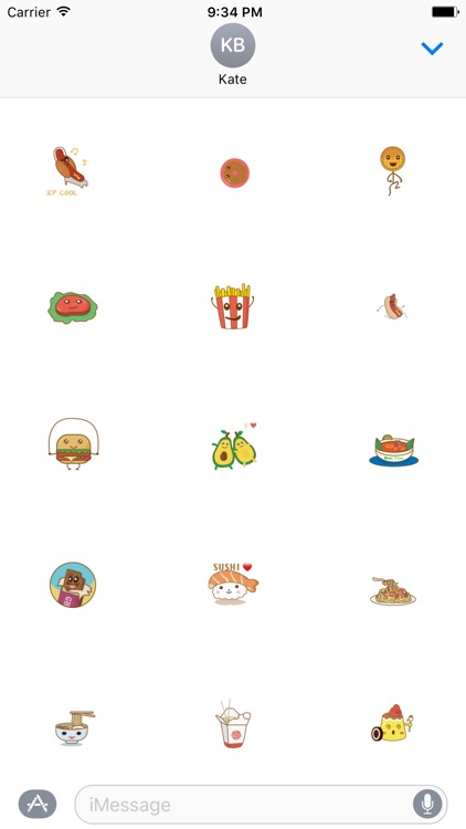 Yummy - Fc Sticker