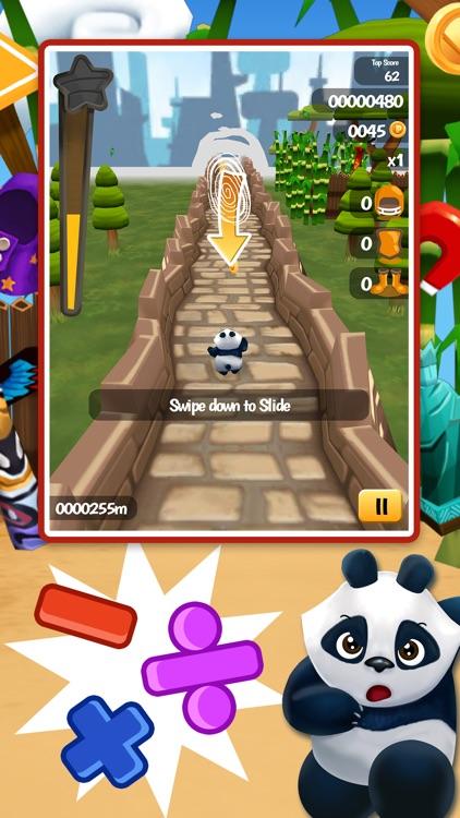 Math Run: Panda Chase