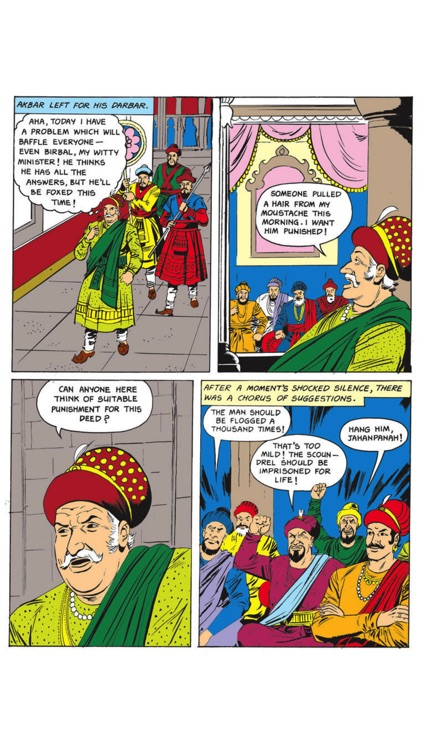 Birbal The Clever- Amar Chitra Katha screenshot-2