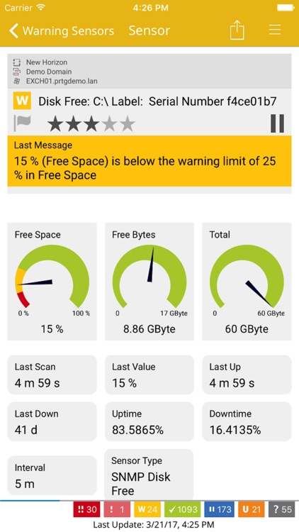 PRTG - The App for PRTG Network Monitor