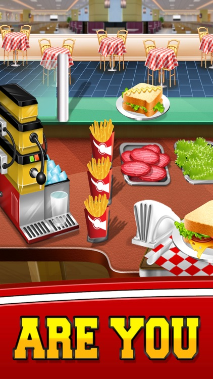 Food Cafe Kitchen Chef : Cooking Maker kids Games