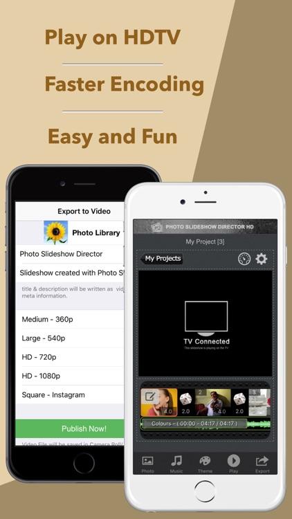 Photo Slideshow Director - Top Music Video Editor screenshot-4