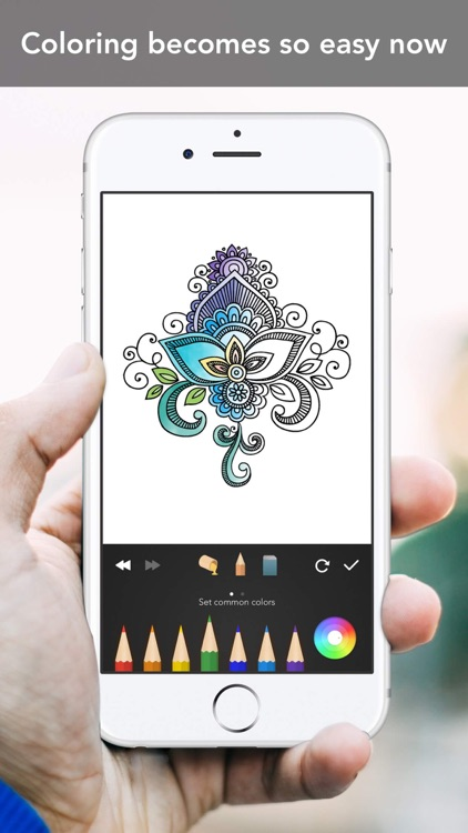 Mandala Coloring Book screenshot-4
