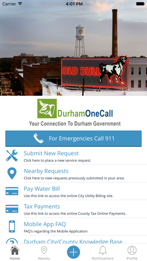 Durham One Call On The App Store