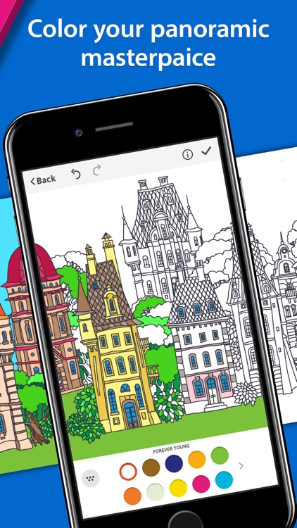 Coloring Book for Adults & Color Games - Coloramic
